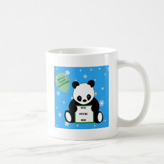 BABY'S FIRST CHRISTMAS! v.3 (Panda Motif) ~ Classic White Coffee Mug