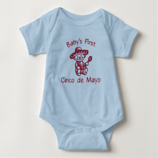 Baby's First Cinco de Mayo Baby Bodysuit