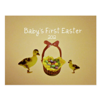 Baby's First Easter 2012 Post Card