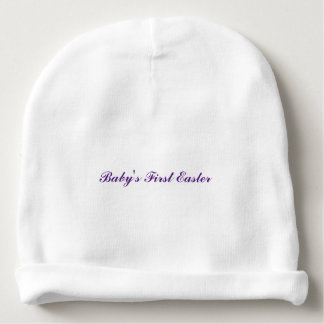 """""""Baby's First Easter"""" Baby Hat"""