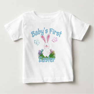 Baby's First Easter (blue) Baby T-Shirt