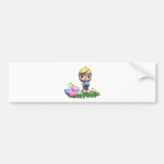 Baby's First Easter Bumper Sticker