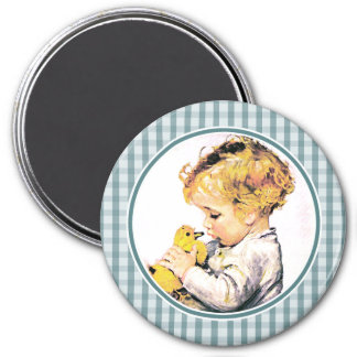 Baby's First Easter . Easter Gift Magnet