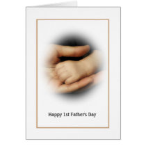 Baby's First Father's Day Card