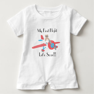 Baby's First Flight Romper