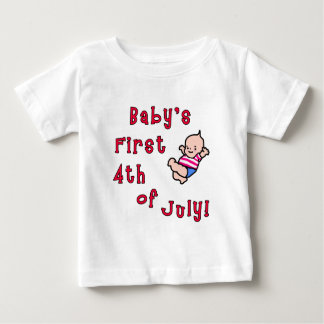 Baby's First Fourth of July Products Tee Shirt