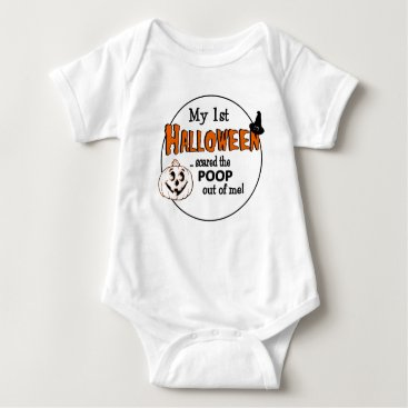 Halloween Themed Baby's First Halloween Baby Bodysuit