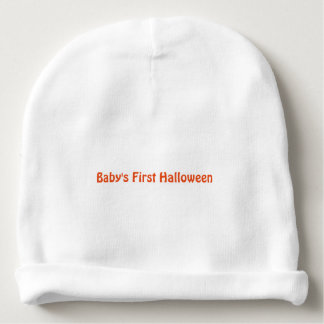 """Baby's First Halloween"" Baby Hat"