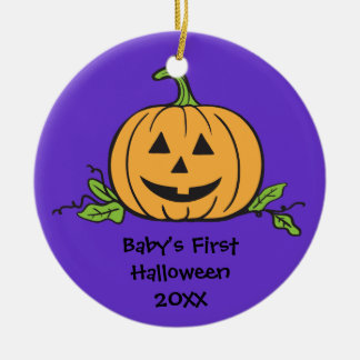 Baby's First Halloween Keepsake Gift Ornament