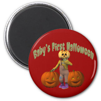 Baby's First Halloween Magnet