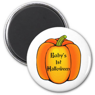 Baby's First Halloween 2 Inch Round Magnet
