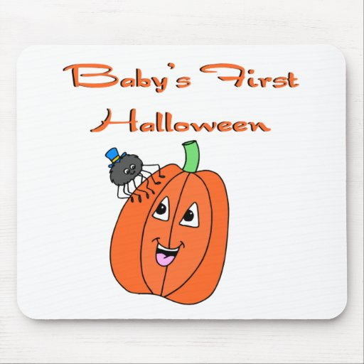 Baby's First Halloween Mousepads