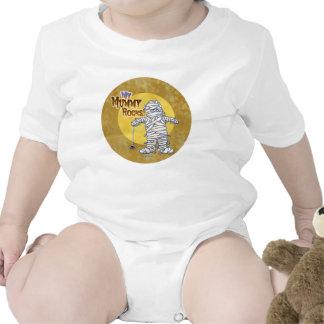 Babys First Halloween - My Mummy Rocks Shirts