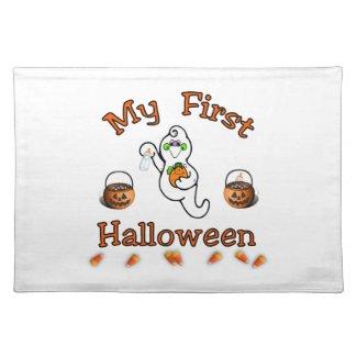 Babys First Halloween Place Mat