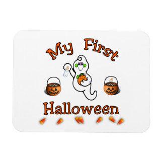 Baby's First Halloween Rectangular Photo Magnet