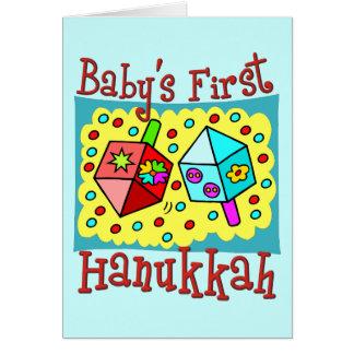 Baby's First Hanukkah Card
