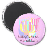 Baby's First Hanukkah Magnets