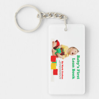Baby's First Lean Book - Keychain