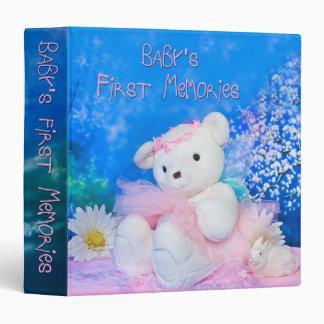 Baby's First Memories (Binder) Binder