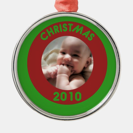 Babys First Metal Ornament