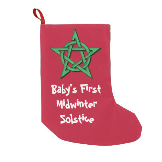 Baby's First Midwinter Solstice Wiccan Stocking