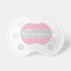 Baby's First Name | Custom Baby Pacifier at Zazzle