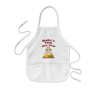Baby's First New Year Kids' Apron