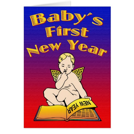 Baby's First New Year Cards