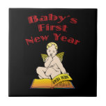 Baby's First New Year Ceramic Tiles