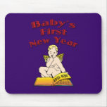 Baby's First New Year Mouse Pad