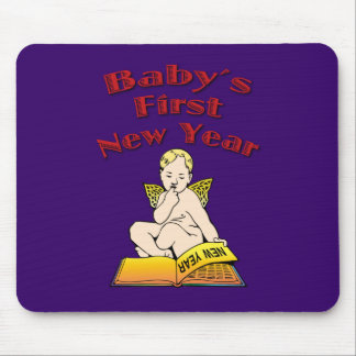 Baby's First New Year Mousepad