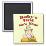 Baby's First New Year Refrigerator Magnet