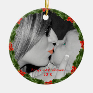 Babys First Ornament 2010