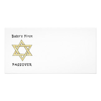 Baby's First Passover Photo Greeting Card