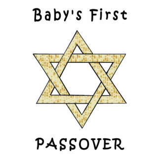 Baby's First Passover Photo Sculpture Ornament