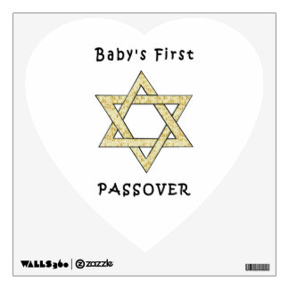 Baby's First Passover Wall Sticker