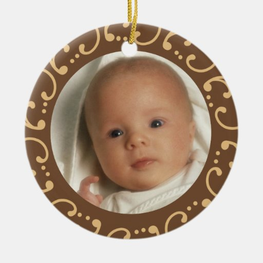 Babys First Photo Christmas Ornaments