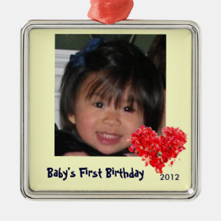 Baby's First Photo Ornament