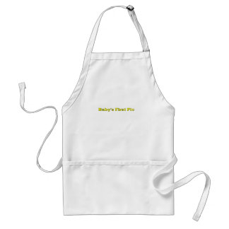 Baby's First Picture The MUSEUM Zazzle Gifts Aprons