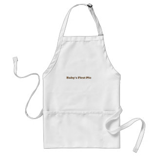 Baby's First Picture The MUSEUM Zazzle Gifts Apron