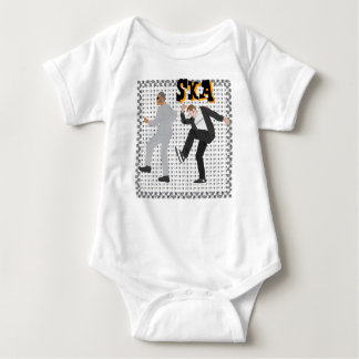 Baby's first Ska Threads! Baby Bodysuit