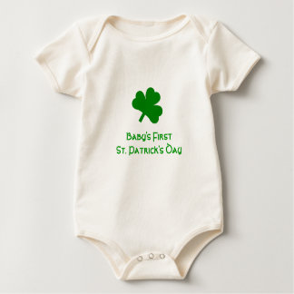 Baby's First St. Patrick's Day Baby Bodysuit