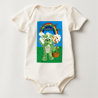 Baby's First St. Patrick's Day , with litte cute Baby Bodysuit
