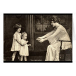 Baby's First Steps Vintage 1918 Greeting Cards