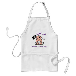 Baby's first talk like a pirate day apron