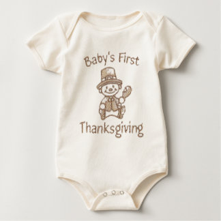 Baby's First Thanksgiving Baby Bodysuit
