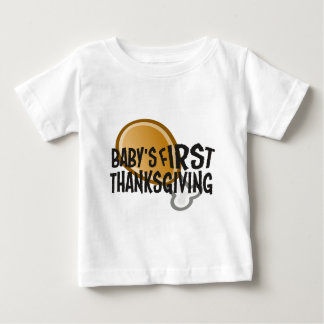 Baby's First Thanksgiving Baby T-Shirt