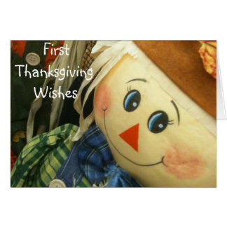 BABY'S FIRST THANKSGIVING CARDS