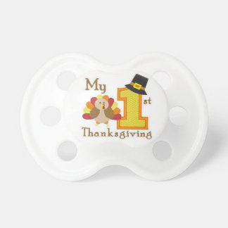 Baby's First Thanksgiving Pacifier