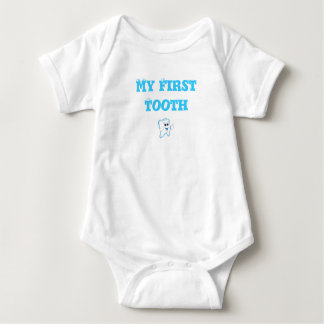 Baby's First Tooth Baby Bodysuit